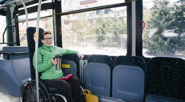 Accessible transit in Whistler image