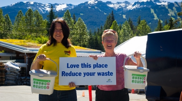 Composting in Whistler