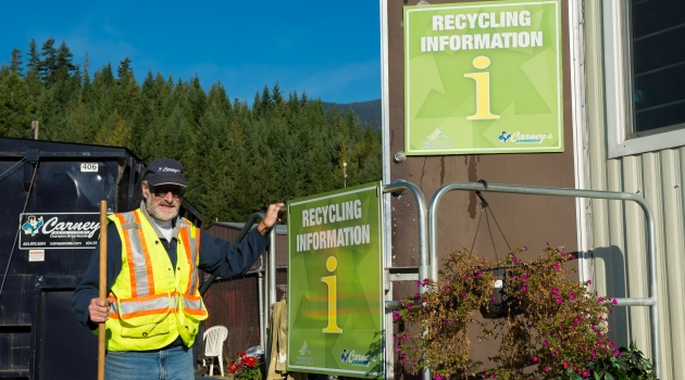 Recycling Depot in Whistler