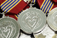 The Sovereign's Medal for Volunteers image by Sgt Ronald Duchesne, Rideau Hall