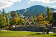 Whistler Olympic Plaza image by Mike Crane, courtesy of Tourism Whistler
