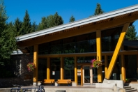 Whistler Public Library by Mike Crane