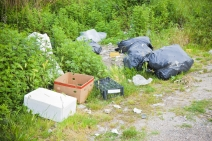 Illegal dumping photo by iStock