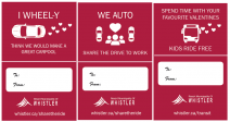 Share the Ride Valentines Cards