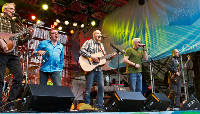 Spirit of West play Whistler in 2010